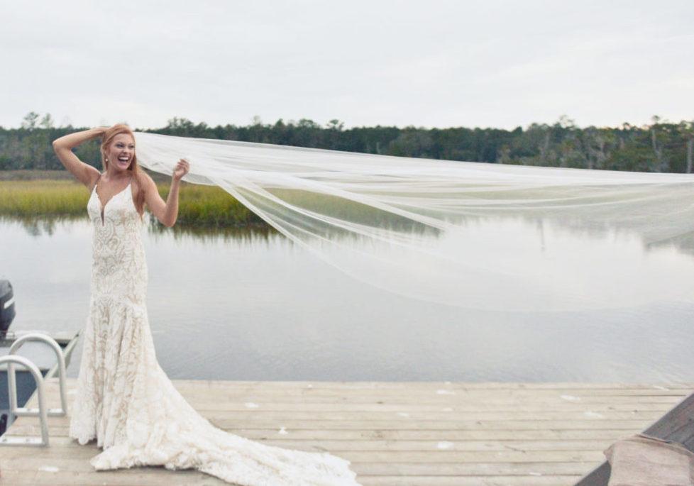 Bride at Wimbee Creek Farm