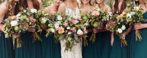 wedding bouquets from Wimbee Creek Farm